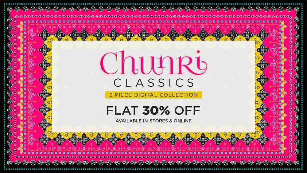Gul Ahmed Chunri Classics