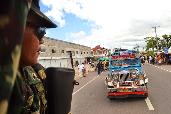 Philippine Army joins storm surge drill