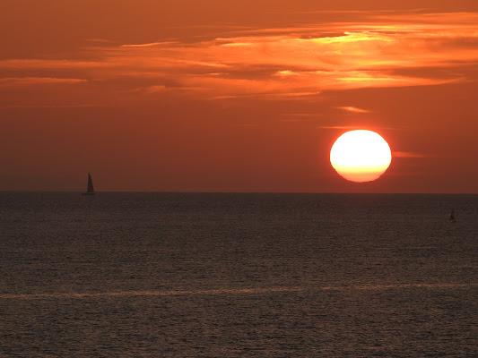 tramonto sul mare di luciano55