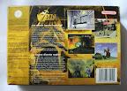 The Legend Of Zelda - Ocarina of Time - Caja detrás