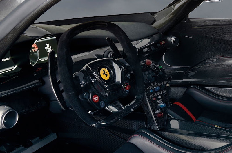 LaFerrari FXX K Interior Design