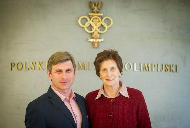 Andrzej Krygowski - PASA i Irena Szewińska PKOL 03-03-2014