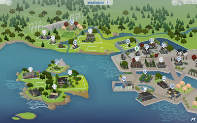 Windenburg in Sims 4 Beleef het Samen