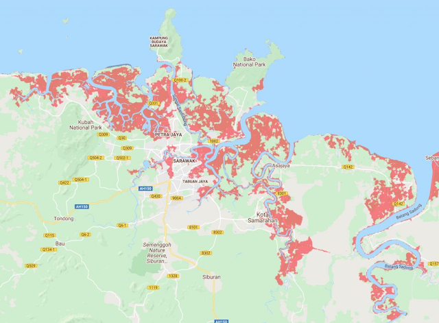 9 bandar utama di Malaysia bakal tengelam menjelang tahun 2050