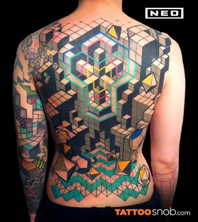 GEOMETRIC TATTOO DESIGNS (20)