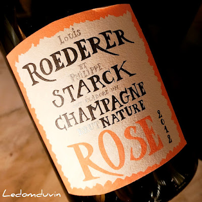 Louis Roederer and Philippe Starck Brut Nature Rosé 2012 by ©LeDomduVin 2021