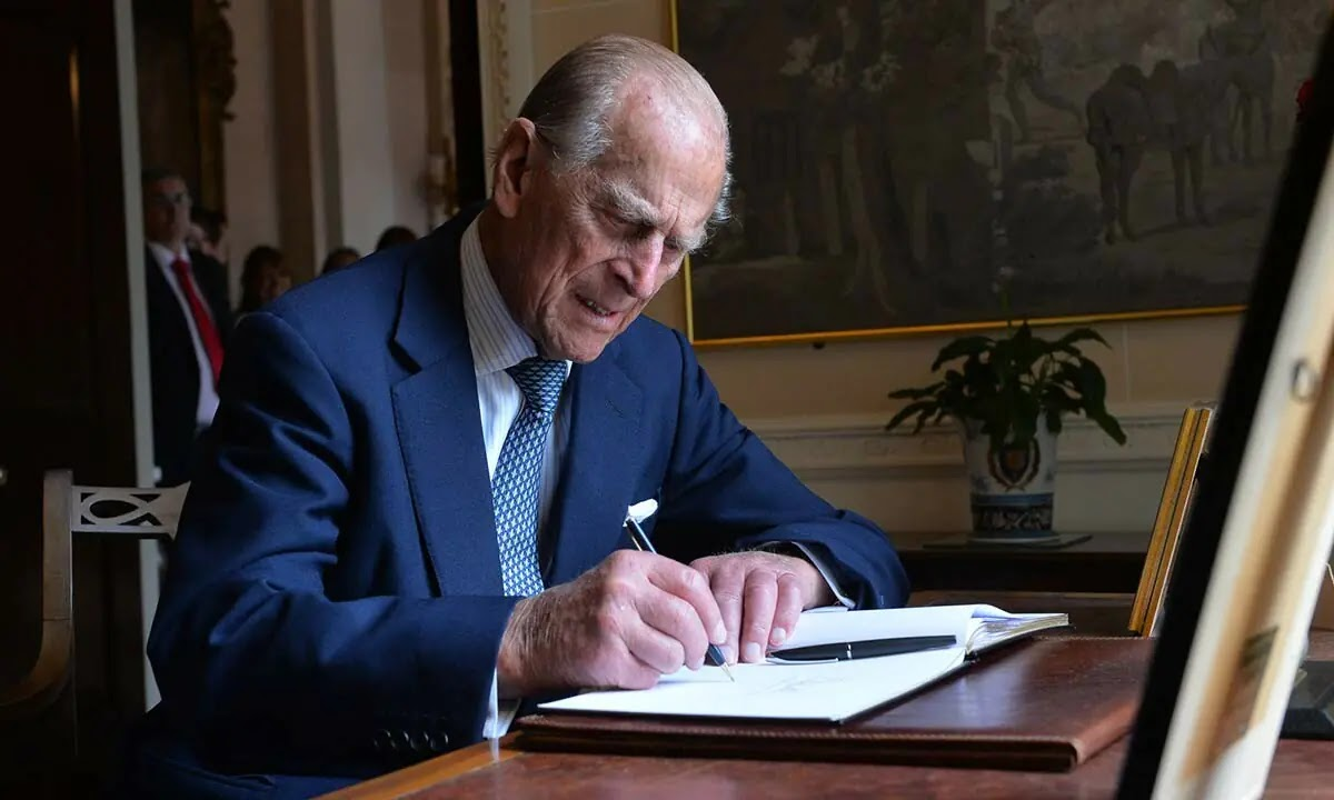 Prince Philip's Last Personal Note to Family Member Before Death Revealed
