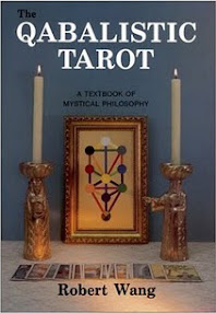 Cover of Robert Wang's Book The Qabalistic Tarot