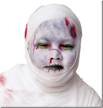maquillaje de momia