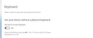 cara memunculkan keyboard di layar komputer