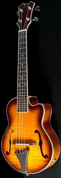 Silverleaf archtop tenor ukulele