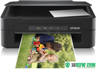 How to reset flashing lights for Epson XP102 printer