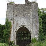 Château de Château-sur-Epte : porte ouest