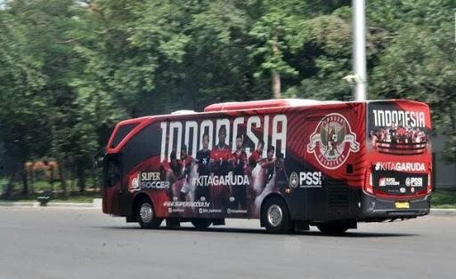 Bus Baru Timnas Indonesia #KitaGaruda Dari Supersoccer, Kontrak Dari Safari Dharma Raya (OBL) ?
