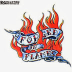 forged in flames - Writing Tattoos Designs