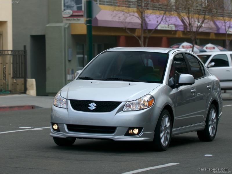 2008 suzuki sx4 sedan specifications pictures prices. Black Bedroom Furniture Sets. Home Design Ideas