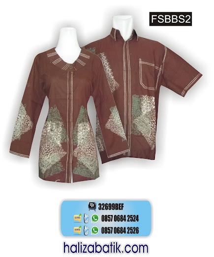 grosir batik pekalongan, Seragam Kerja, Model Sarimbit, Batik Sarimbit