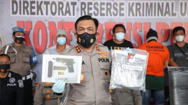 Pembunuh Wartawan Media Lokal Sumut, Eksekutor Diupah Jutaan Rupiah