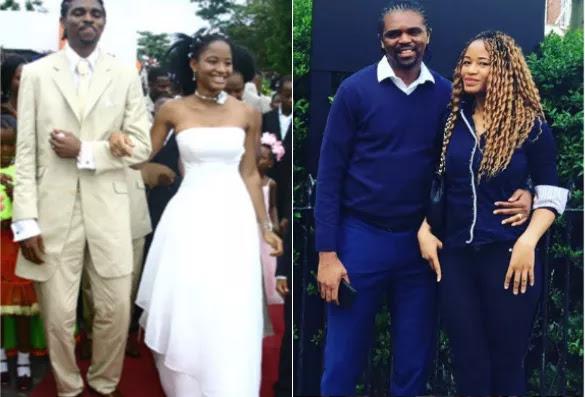 Kanu Nwankwo And His Wife, Amara Celebrate 13th Wedding Anniversary