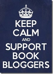 keep calm and support book bloggers