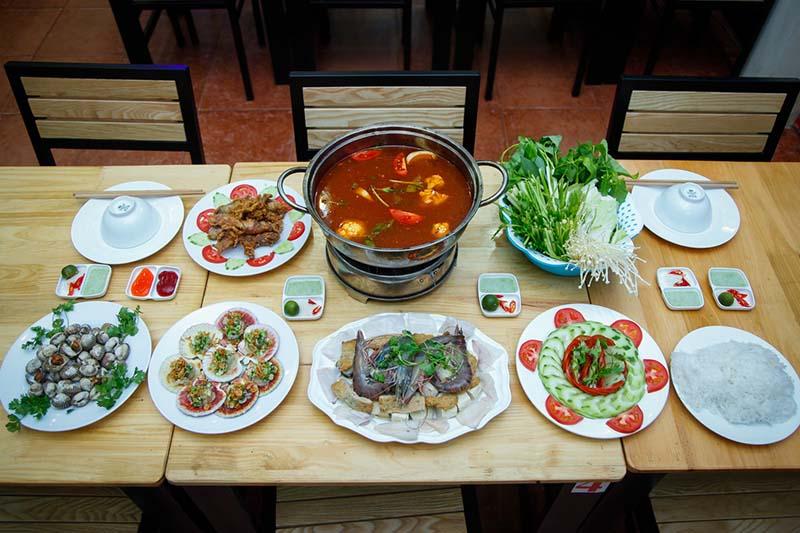 Set hải sản đầy hấp dẫn dành cho 04 người tại nhà hàng Hải Sản Tươi Sống - Ốc Sài Gòn