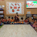 Orange Day Celebration by Nursery Afternoon Section at Witty Kids, Chikoowadi (2018-19)