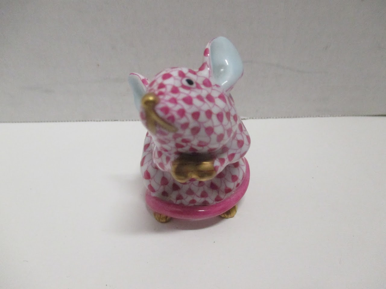 Herend Hungary Porcelain Mouse