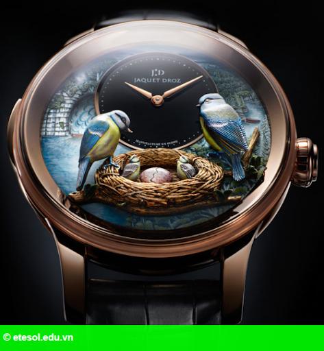 Hình 1: Thương hiệu đồng hồ Jaquet Droz có mặt ở Việt Nam