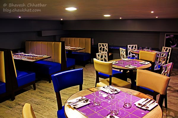 Seating Arrangement at Frisco, Koregaon Park, Pune