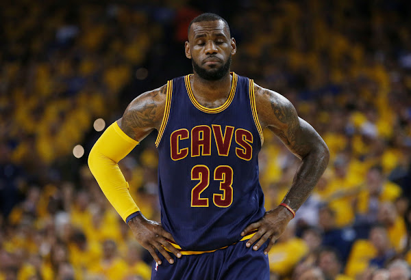 James Returns to 23 Chromosomes LeBron 12 PE in Game 5 Loss