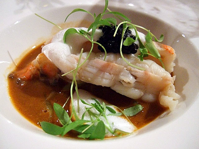 Maine lobster with bisque