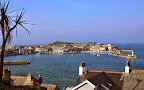 The iconic Cornish seaside town of St Ives.