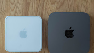 Mac mini Early 2009 と Mac mini 2018