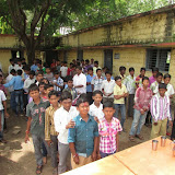 Milk Distribution @ Gulburga on 21-08-2013