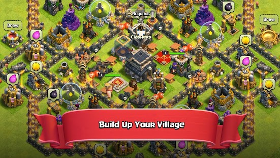 Clash of Clans v11 185 15 - Download CoC Mod Apk Games [Infinite Gems]
