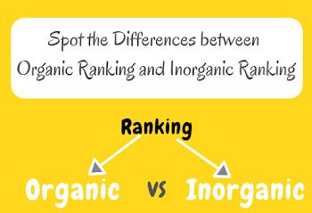 Temukan Perbedaan antara Peringkat Organik dan Peringkat Anorganik