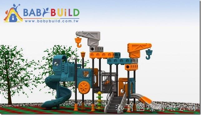 BabyBuild 遊具工業風