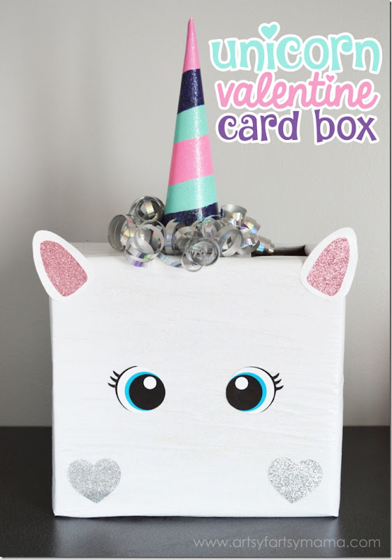 Unicorn-Valentine-Box