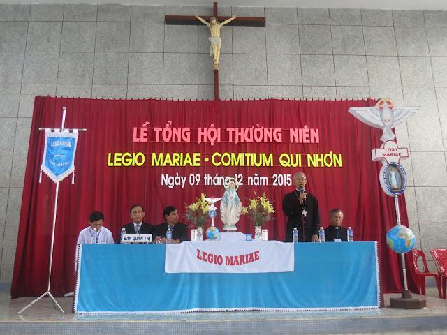 Lễ Tổng Hội Thường Niên Legio Mariae 2015