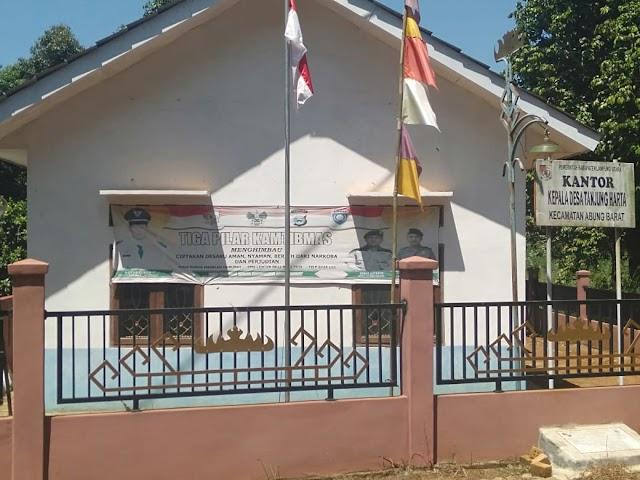 Desa Tanjung Harta manfaatkan dana Desa DD Buat membangun Desa
