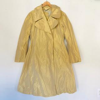 Burberry Prorsum Taffeta Trench Coat