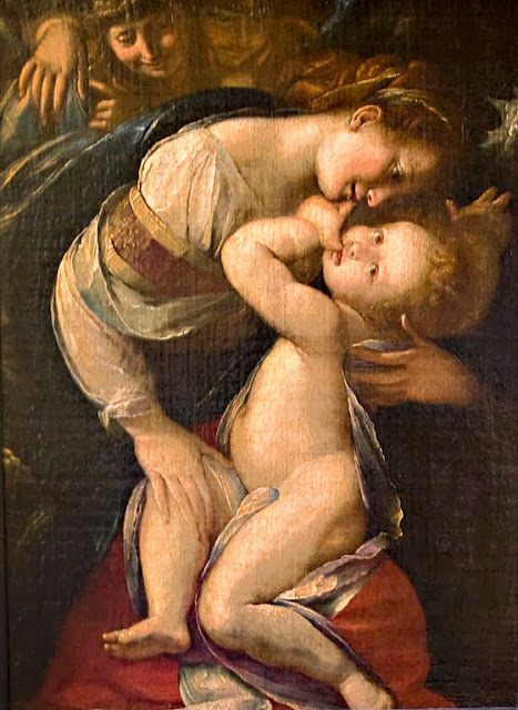 Giulio Cesare Procaccini - Madonna and Child with Angels