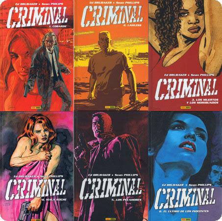 Criminal – Ed Brubaker & Sean Phillips 1-6 Cómic Español