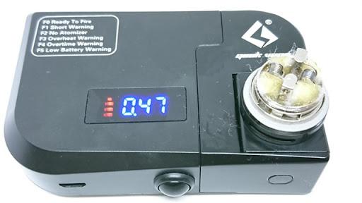 DSC 5472 thumb%255B2%255D - 【MOD】「Innokin Oceanus iSub 110W VW Mod + iSub VE タンクキット」(イノキンオシアヌスアイサブ+アイサブブイイータンク)レビュー!20700バッテリー採用モデル!