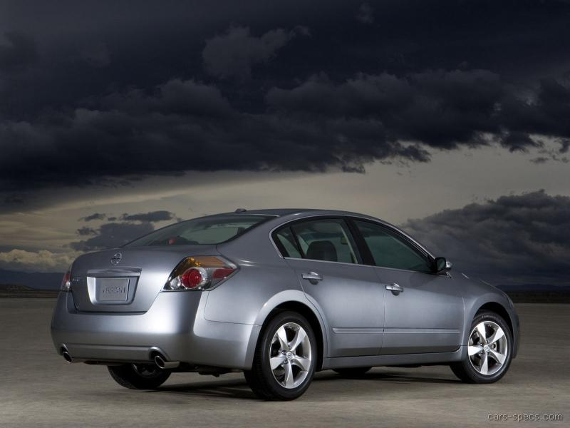 2007 nissan altima sedan specifications pictures prices. Black Bedroom Furniture Sets. Home Design Ideas