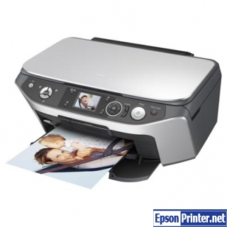 How to reset Epson RX565 printer
