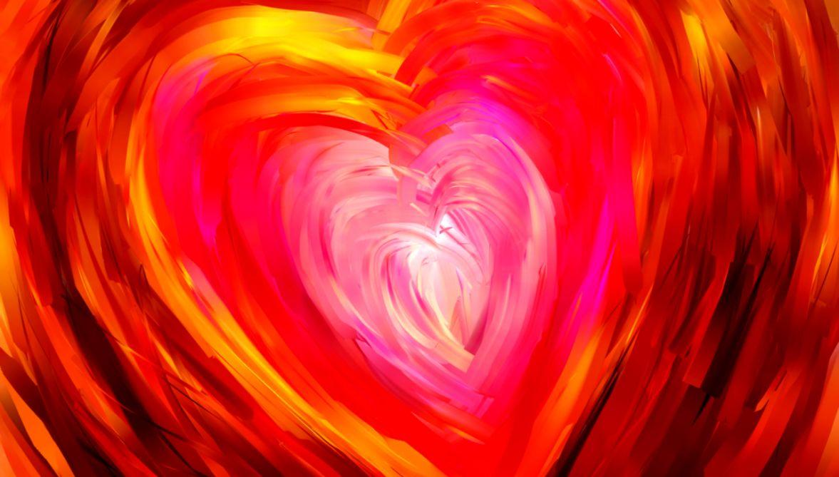 Abstract Paintings Of Love Desktop Wallpaper Hd Wallpapers