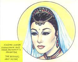 The Buddha Sister Sundari Nanda Image