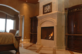 Fireplace, Interior, Overmantels, Surrounds, Tile