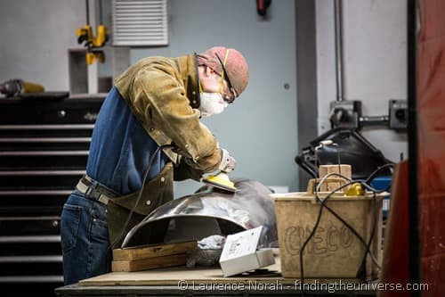 man at work Walla Walla foundry